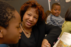 Oakland Terrace ES Principal Honored with Distinguished Educational Leadership Award