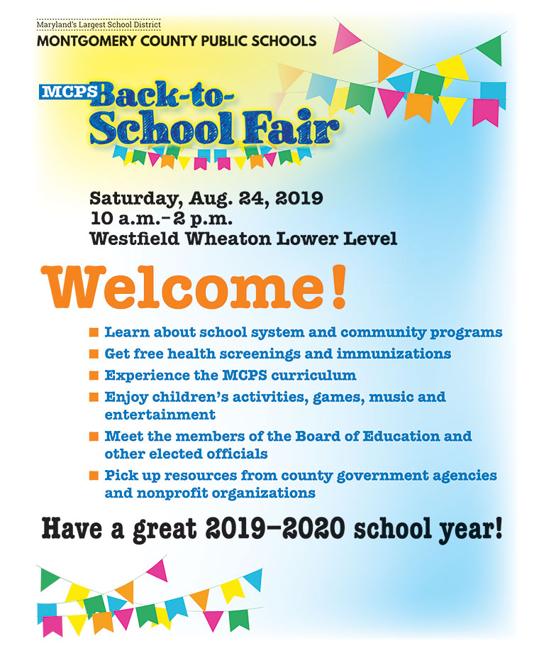 Back to School Fair Program