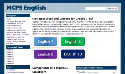 MCPS English Website Image