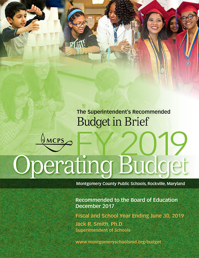 FY 2019 Budget in Brief