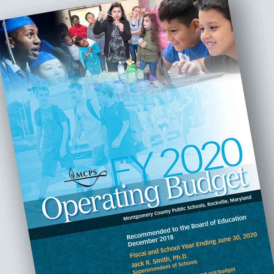 FY 2020 Superintendent's Recommended Operating Budget—At A Glance