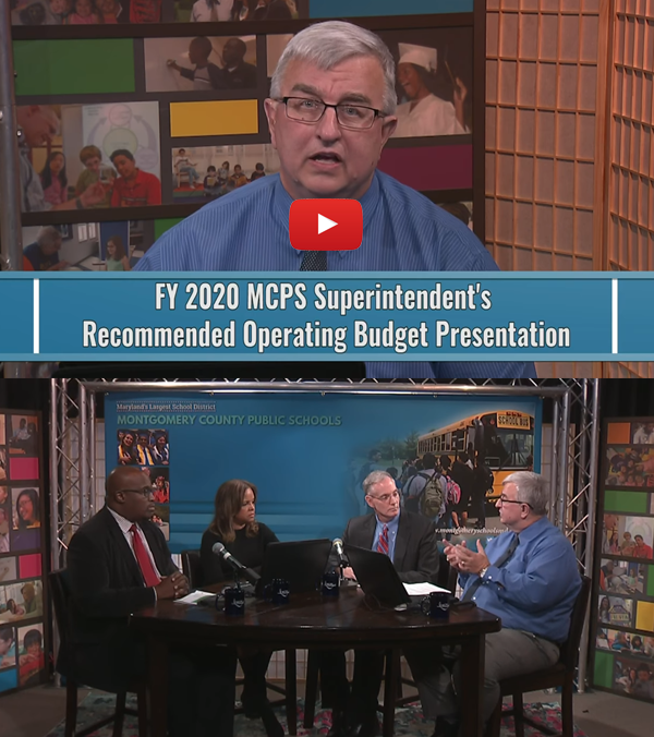 FY 2020 Superintendent's Recommended Operating Budget—Full Video Presentation and Virtual Conversation