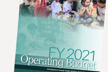 FY 2021 Op Budget - Cover
