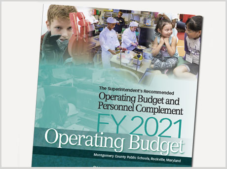 operating budget recommended