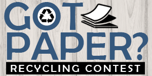 Click for information about SERT's Got Paper? contest