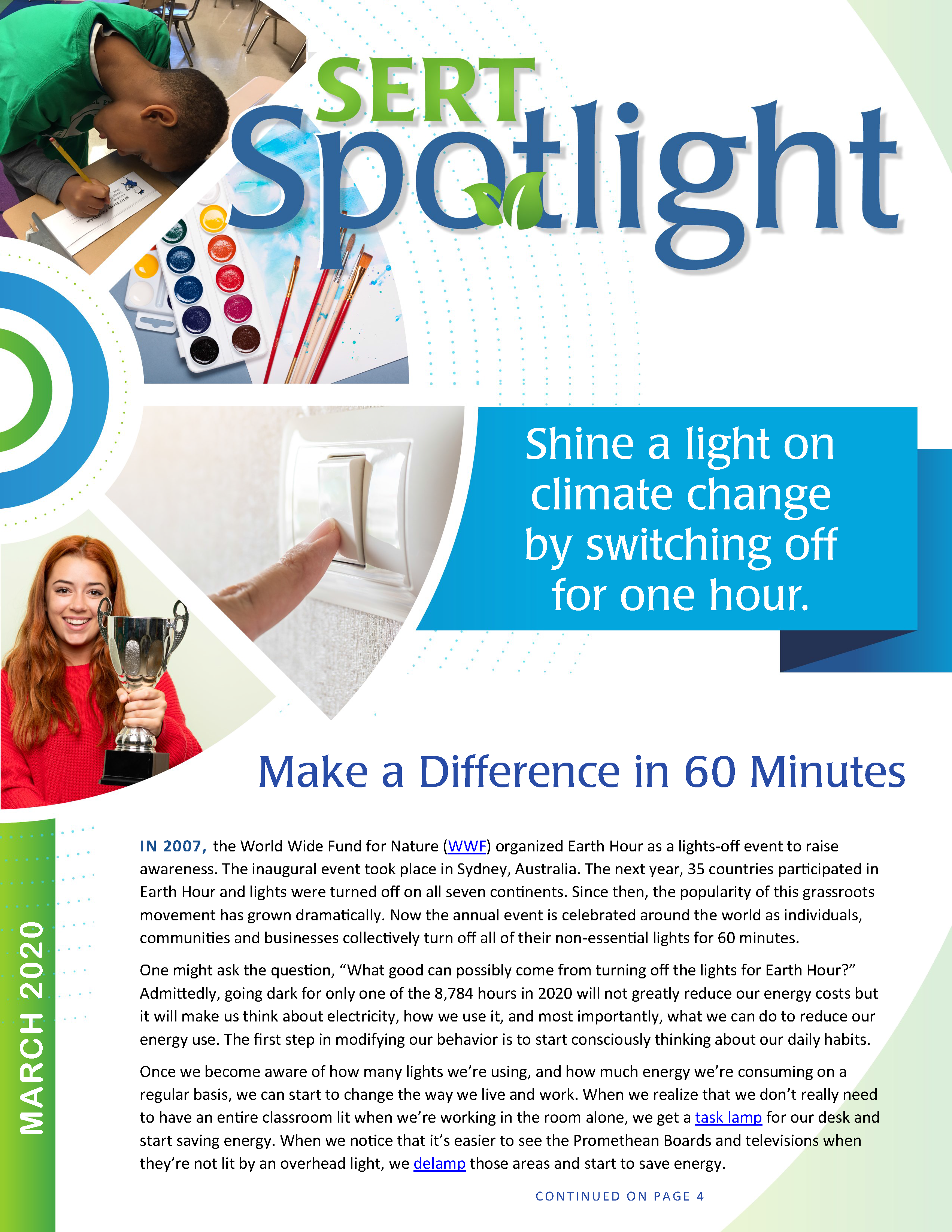 Click to view the current issue of SERT Spotlight