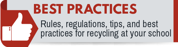 Click for Best Practices for Recycling