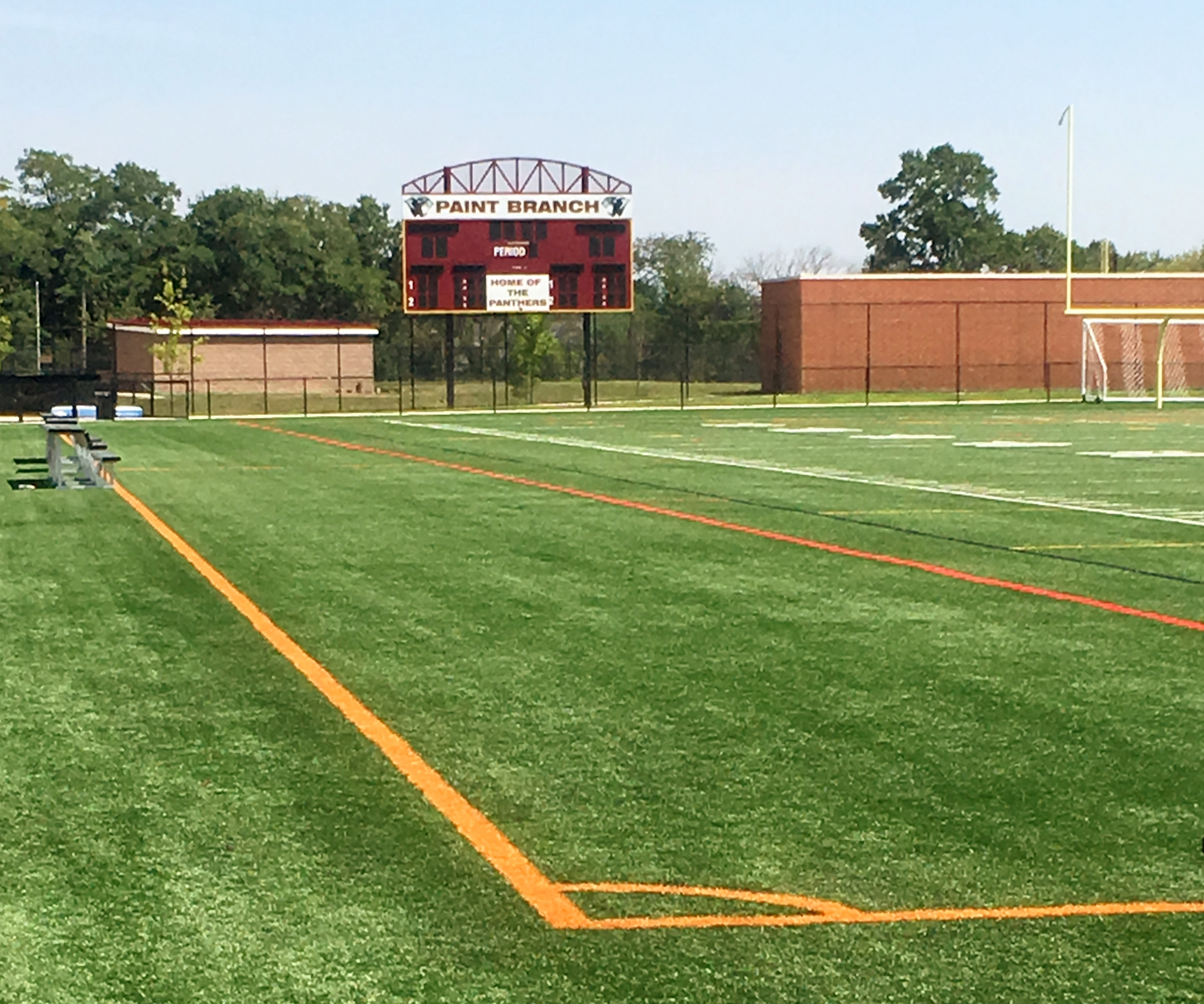 Paint Branch HS Artificial Turf