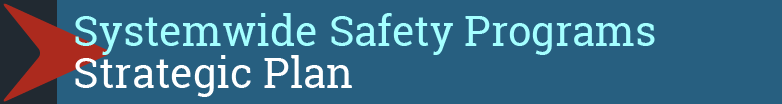 Click for the Strategic Plan for Systemwide Safety Programs