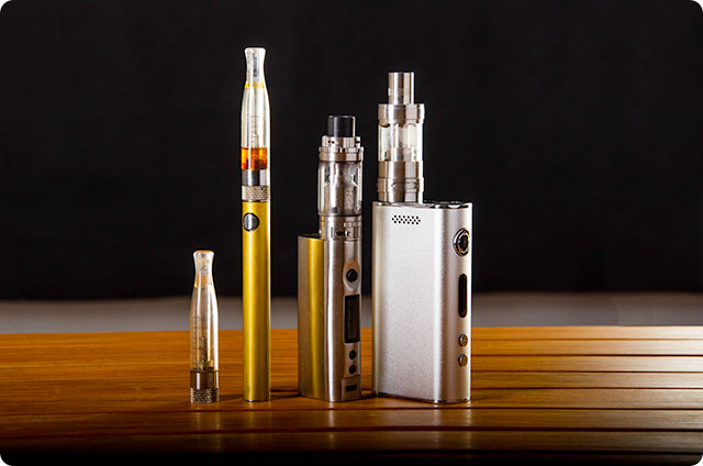 E-Cigarettes - Variety of Types
