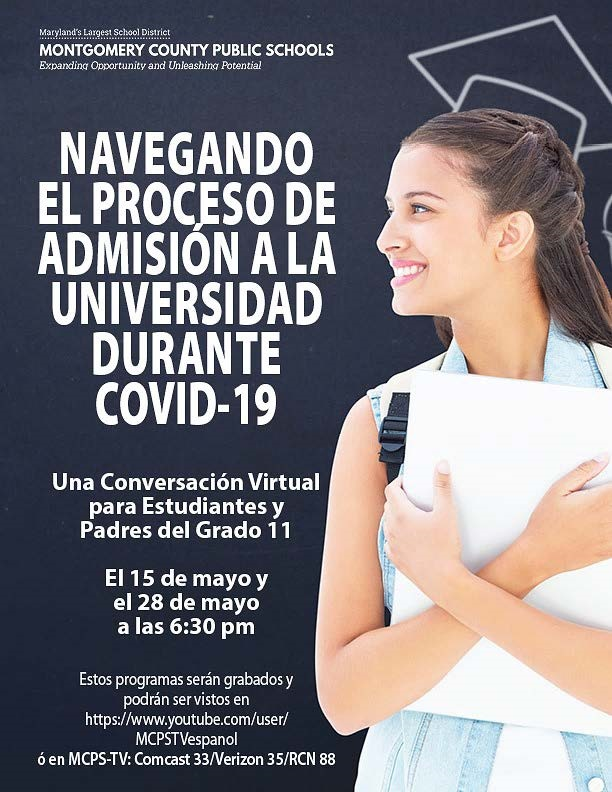 Navigating College Admissions during COVID-19-Spanish