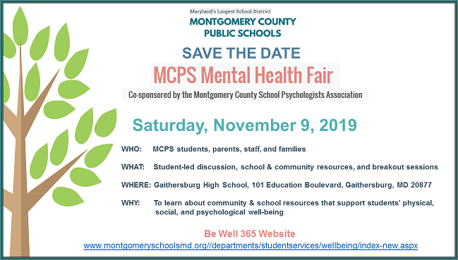 mental health fair save-the-date