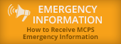 Emergency Info for MCPS