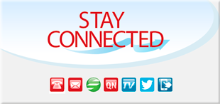 Stay connected badge