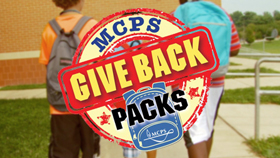 MCPS Give Back Packs Campaign