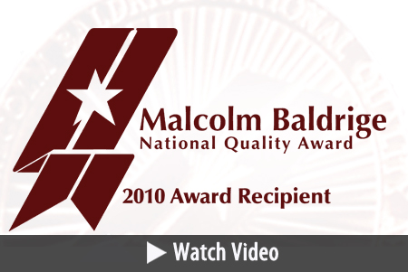 MCPS Receives Malcolm Baldrige National Quality Award