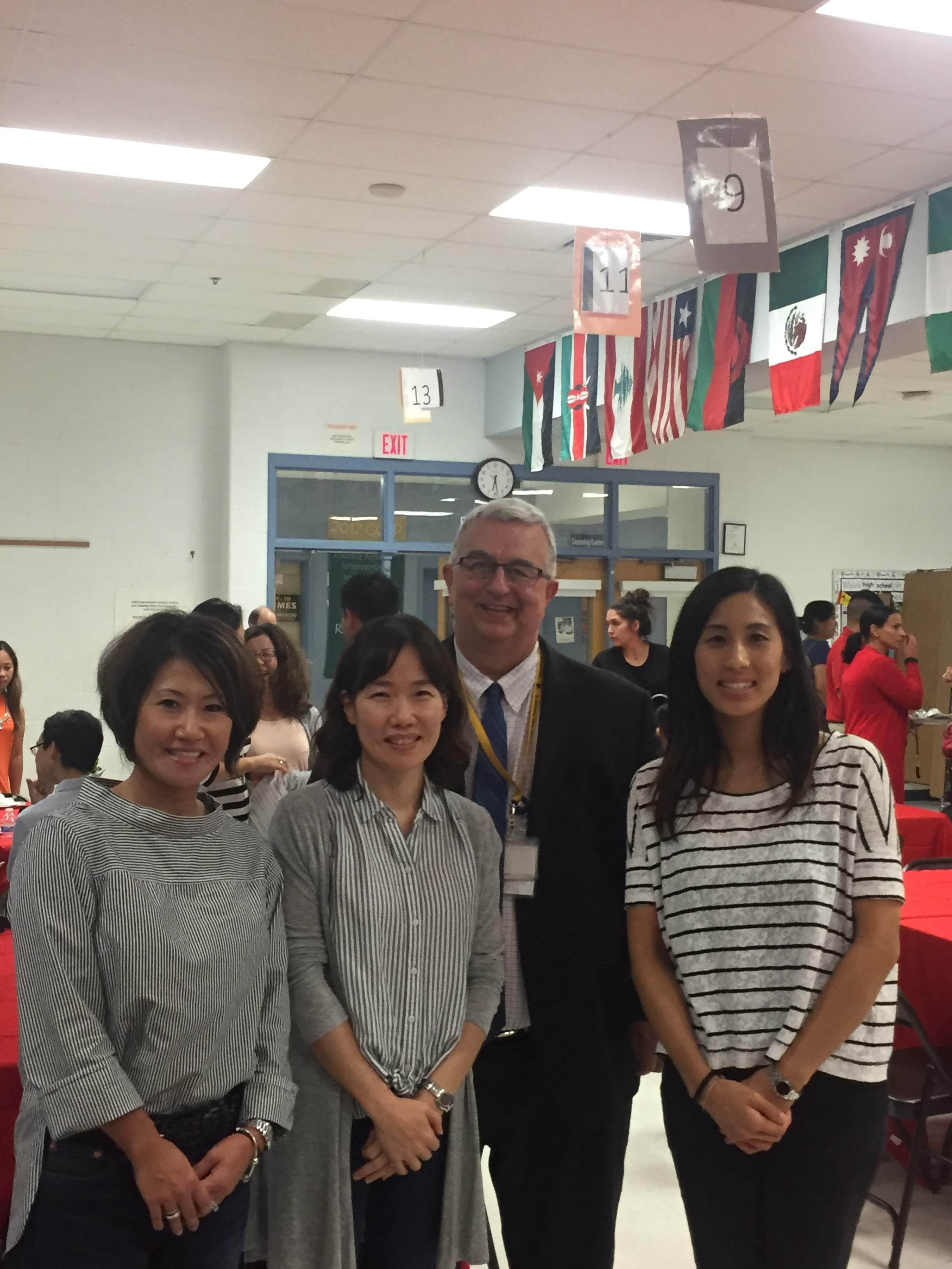 LEAPP Open House new teachers with Dr. Smith