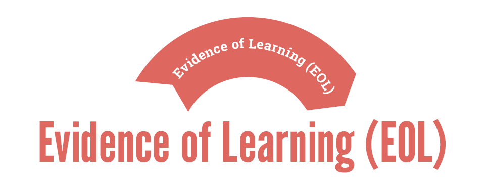 EOL - Evidence of Learning