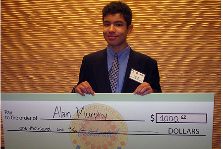 The Veldt Essay Alans Essay Titled Everyday Explored The Values That Tie Hispanic  Communities Together And The Contributions Many Notable Hispanics Have Made  In  Help Me With My Essay also Apa Style Format Essay Richard Montgomery Student Wins Hispanic Heritage Essay Contest  Best Invention Essay