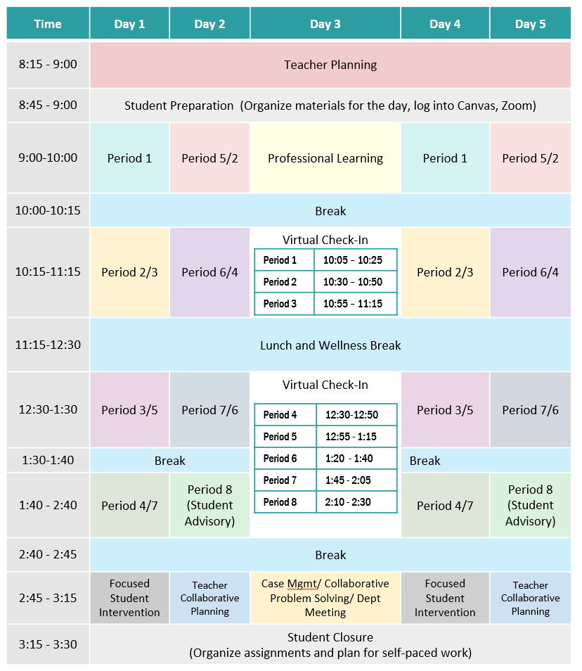 secondary-schedule
