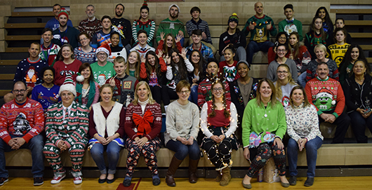 Wootton in Ugly Sweaters Winter 2017