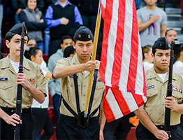 Academy of Naval Junior Reserve Officers' Training Corps (NJROTC) at Paint Branch High School