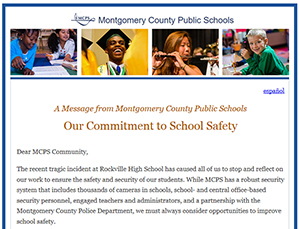 Commitment to School Safety